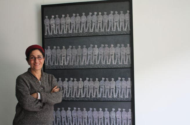 Visual artist Huda Lufti was one of the workshop leaders (Photo: Art Stormer)