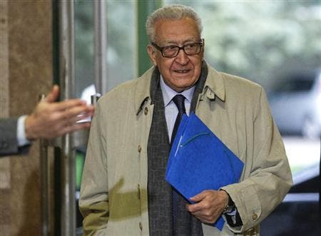 UN envoy Lakhdar Brahimi has been one of the main organizers of the proposed Geneva II talks (File Archive/AFP)