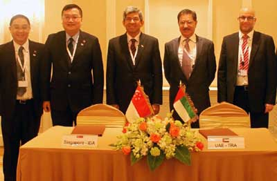 eGovernment and ICT will be one of the key collaboration areas between UAE and Singapore under the new agreement (Courtesy of Trade Arabia)