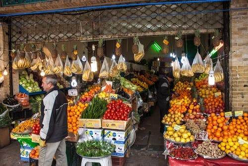 Sanctions on Iran have prevented the country from exporting and importing many goods, which is partially responsible for the country's economic suffering (Shutterstock)