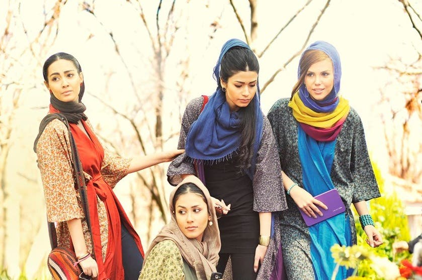 Iranian fashion is having a second uprising. (Image via Poosh Facebook page)