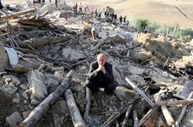 Iranians often experience earthquakes due to the country's fault line location (File Archive/AFP)