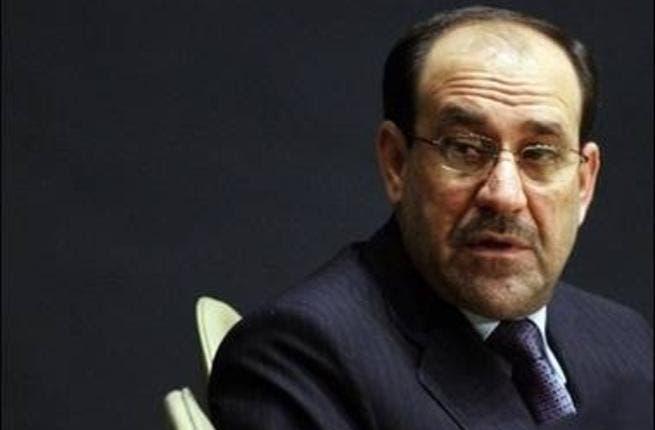 Iraq Prime Minister Nouri al-Maliki.