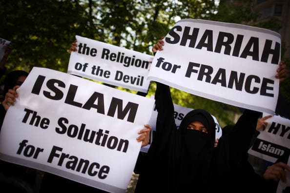 This week marks the first anniversary of a French law banning the wearing of full-face veils in public.