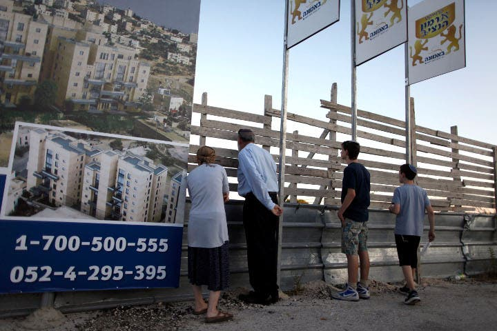 The building of settlements remains one of the primary obstacles to peace between Israel and Palestine (Image credit: Getty)