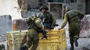 Israeli forces patrol the West Bank territory and allegedly killed the three militants after they opened fire on the troops (AFP)