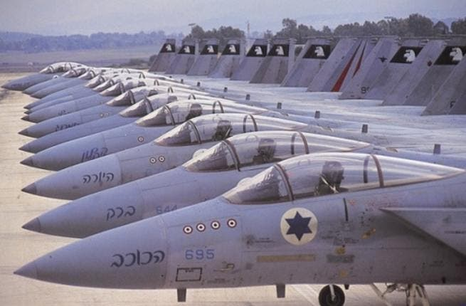 The Lebanese army had reported a heavy presence of Israeli jets over its territory throughout the night.