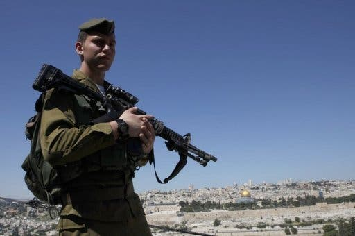 A Palestinian man was shot and killed by Israeli forces at the Gaza border. (AFP/File)
