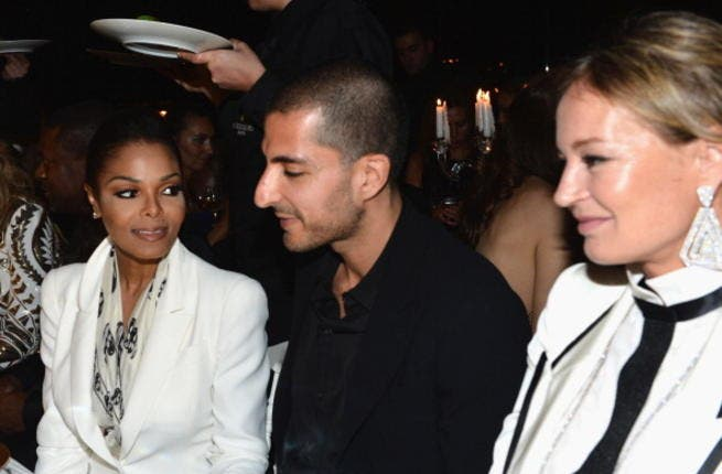 Janet Jackson poses with her man at De Grisogono Party - 65th Annual Cannes Film Festival