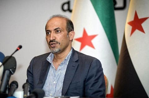Syrian opposition leader Ahmad Jarba previously declined an invitation to meet with officials in Moscow in early December (File Archive/AFP)