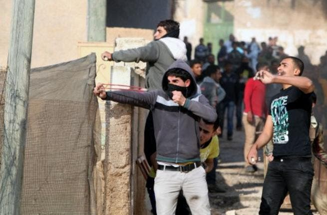 A village near Jenin erupts in clashes between Palestinians and IDF (image used for illustrative purposes)