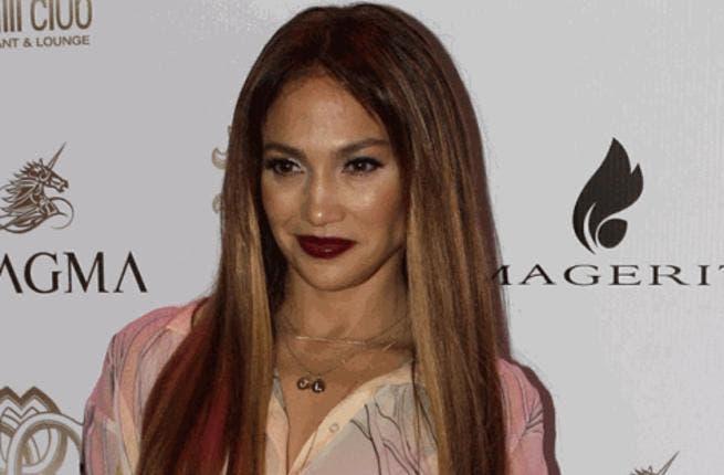 Jennifer Lopez at Dubai's Cavalli Club (Photo courtesy of Virendra Saklani / Gulf News)