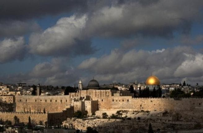 The old city, and within it sites such as Al Haram Al Sharif and the Wailing Wall, lie in East Jerusalem.
