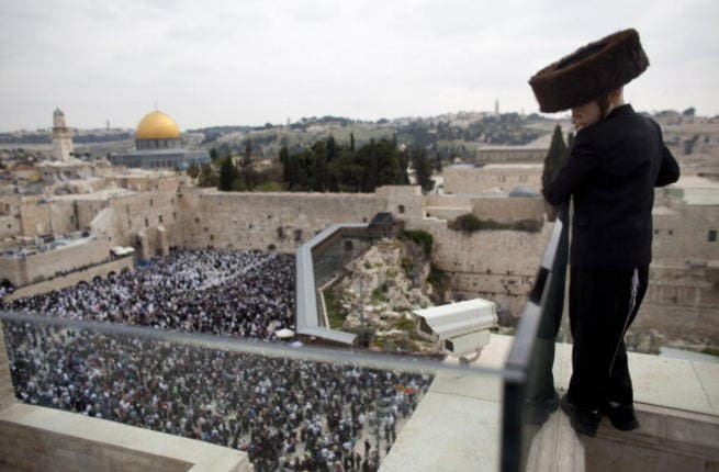 A campaign is afoot to Jud'aify Jerusalem by hook or crook, whether by naming of Arab precincts a Hebrew name or removal of olive trees to annul the Palestinian Arab heritage of the city.