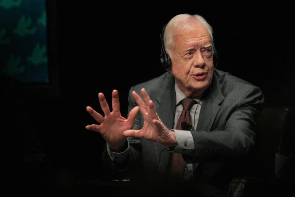 Jimmy Carter visits Egypt to witness the momentous presidential elections
