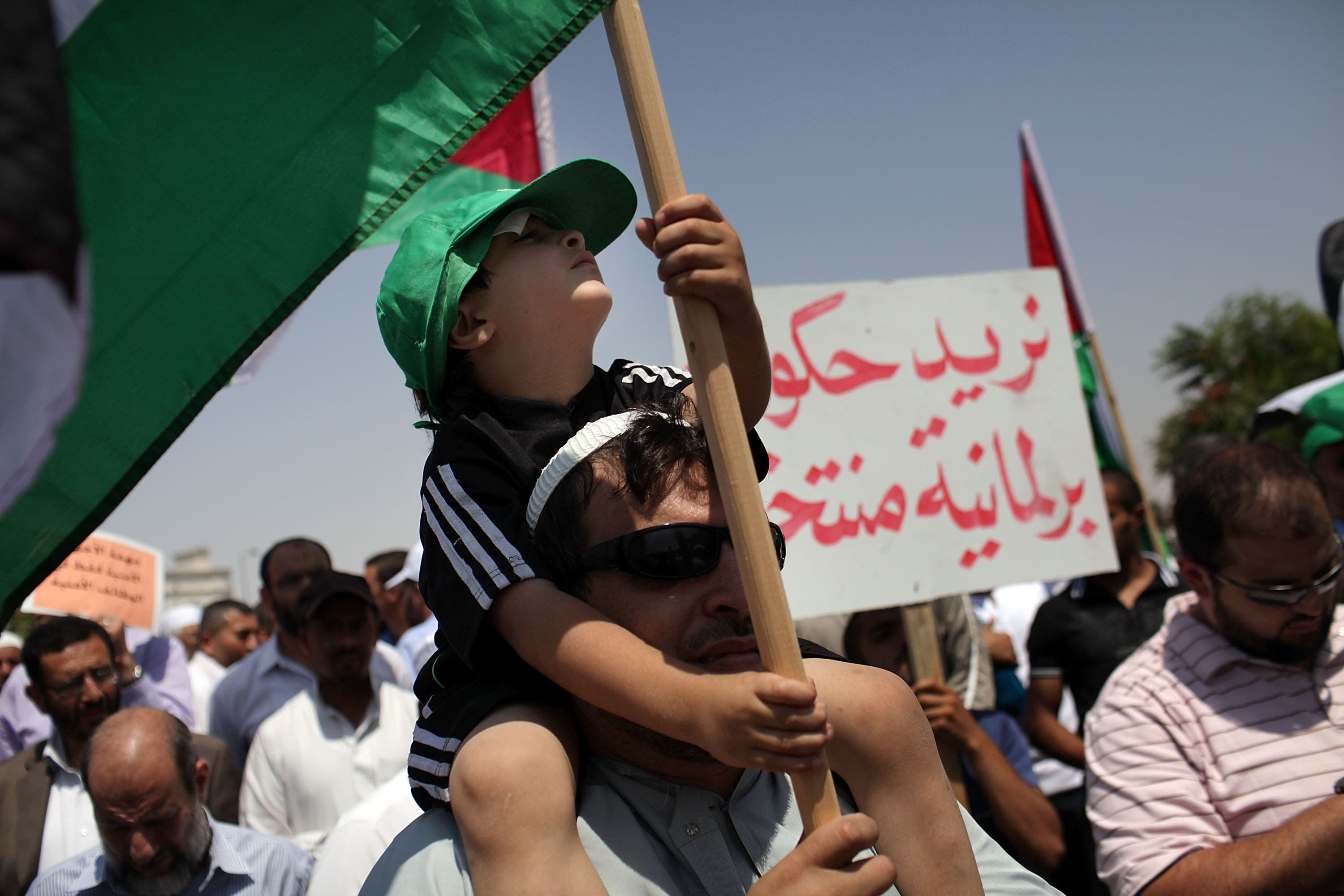 Jordan demands reforms and things get ugly again in July after a relatively quiet, protest-free period since March.