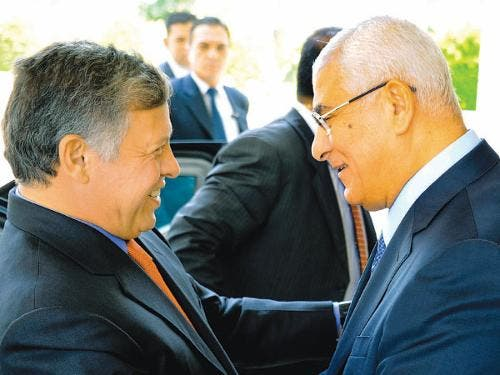 Jordan's King Abdullah was among the first country leaders to welcome the military coup that ousted former Egyptian president Mohammed Morsi (AP)