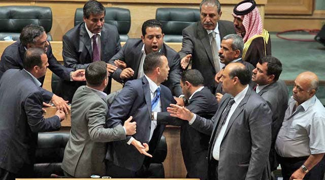 An MP opened fire using a AK-47 on his colleague in the Jordanian House of Representatives in Amman on Tuesday. (Image for illustrative purposes, courtesy of The Jordan Times/Hassan Tamimi)
