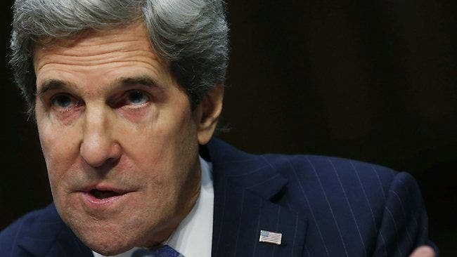 Kerry urges Israel and Palestine to renew peace talks.