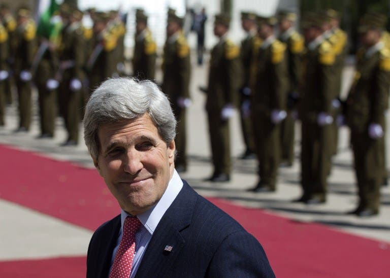 U.S. Secretary of State John Kerry warned Iraq about indirectly aiding the Syrian regime. (AFP)