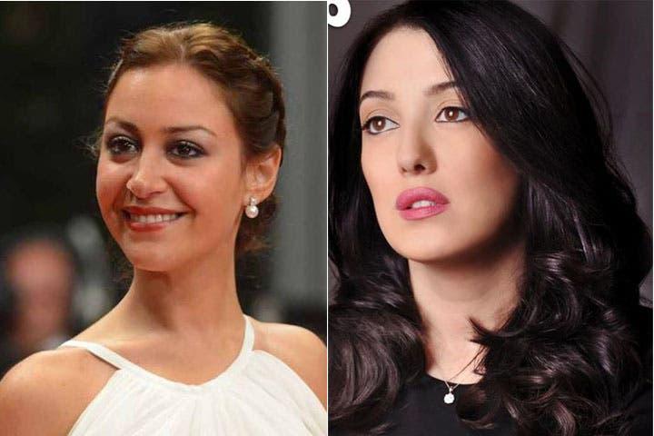 Friendly fires between Mina Shalabi and Kinda Alloush? (Image: Facebook)
