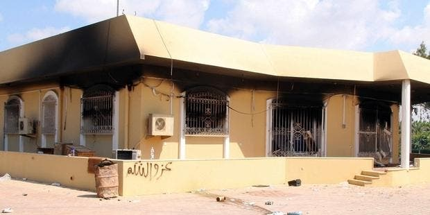 The U.S. consulate in Benghazi was attacked and burned by local fighters not linked to Al Qaeda new evidence shows (File Archive/AFP)