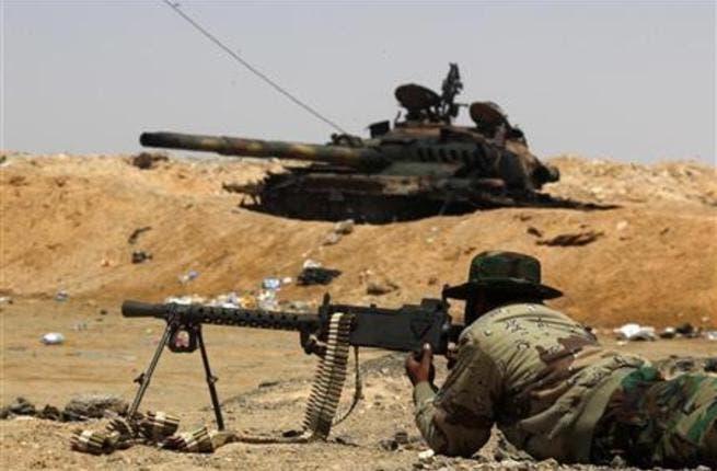 Libya fight