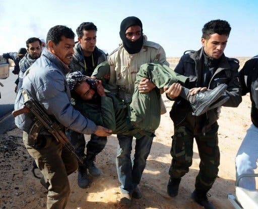 Libyan wounded