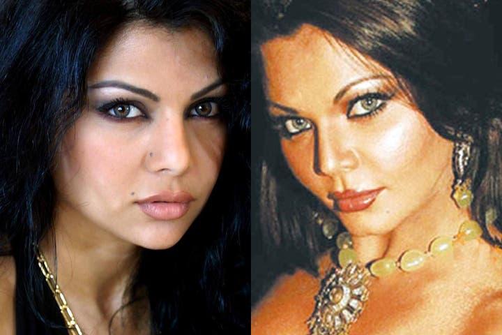 Double Trouble: Rakhi Sawant looks scarily identical to Haifa Wehbe. (Image: Tayyar.org)