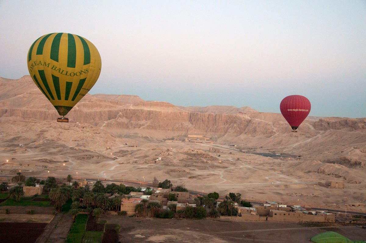 At least 19 tourists have been killed in a hot air balloon crash in the Southern town of Luxor in Egypt