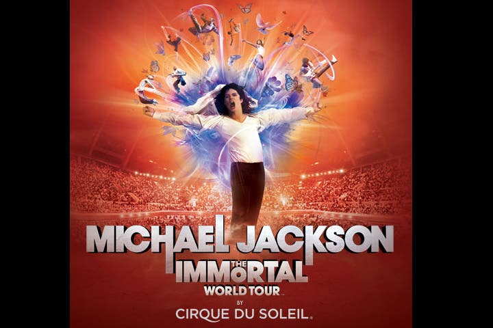 Michael Jackson: The Immortal World Tour by Cirque du Soleil is coming to Dubai. (Image: Ticketmaster)