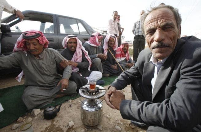 Make tea not war: Jordanian protestors not quite in the Egyptian vein