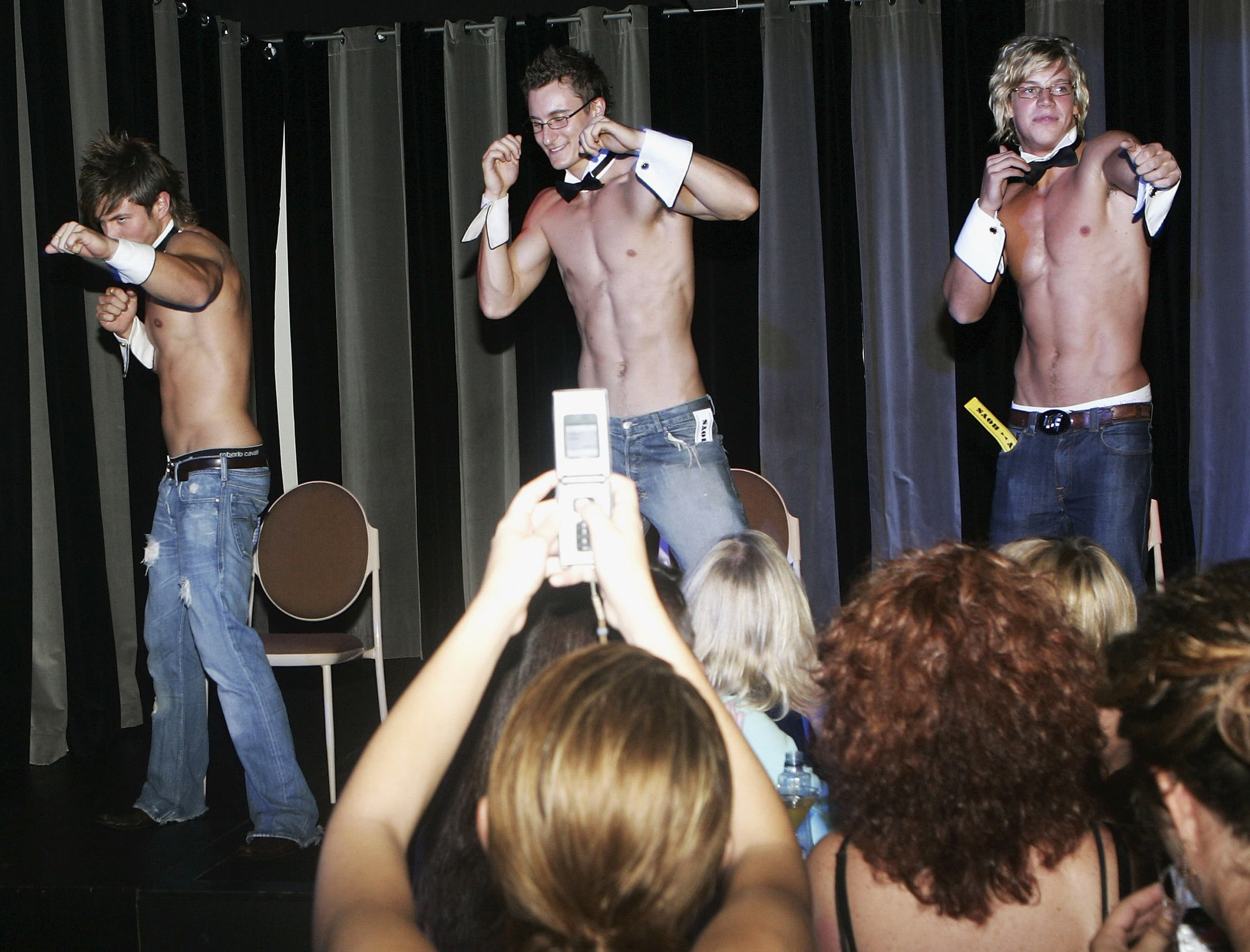 The subject of male stripping as a trade strikes some people's fancy. (Image used for illustrative purposes)