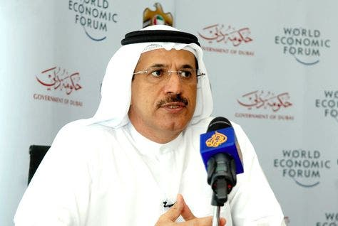 UAE Minister of Economy Sultan bin Saeed Al Mansouri warned participants at this week's World Economic Forum that political instability in the Middle East could undermine the global economy and prosperity worldwide (Courtesy of Arabian Business)