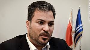 Bahrain's general prosecutor charged ex-MP Khalil Marzooq with