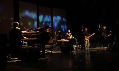 Massar Egbari perform in Biblotheca Alexandrina last December (Photo: Rowan El Shimi)