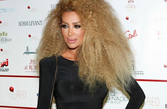 Maya Diab has been named Lebanon's most seductive star