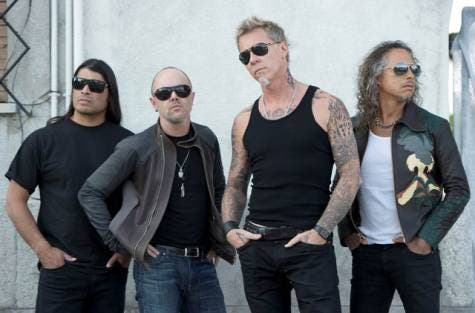 US rock group Metallica will perform in the UAE capital again on April 19.