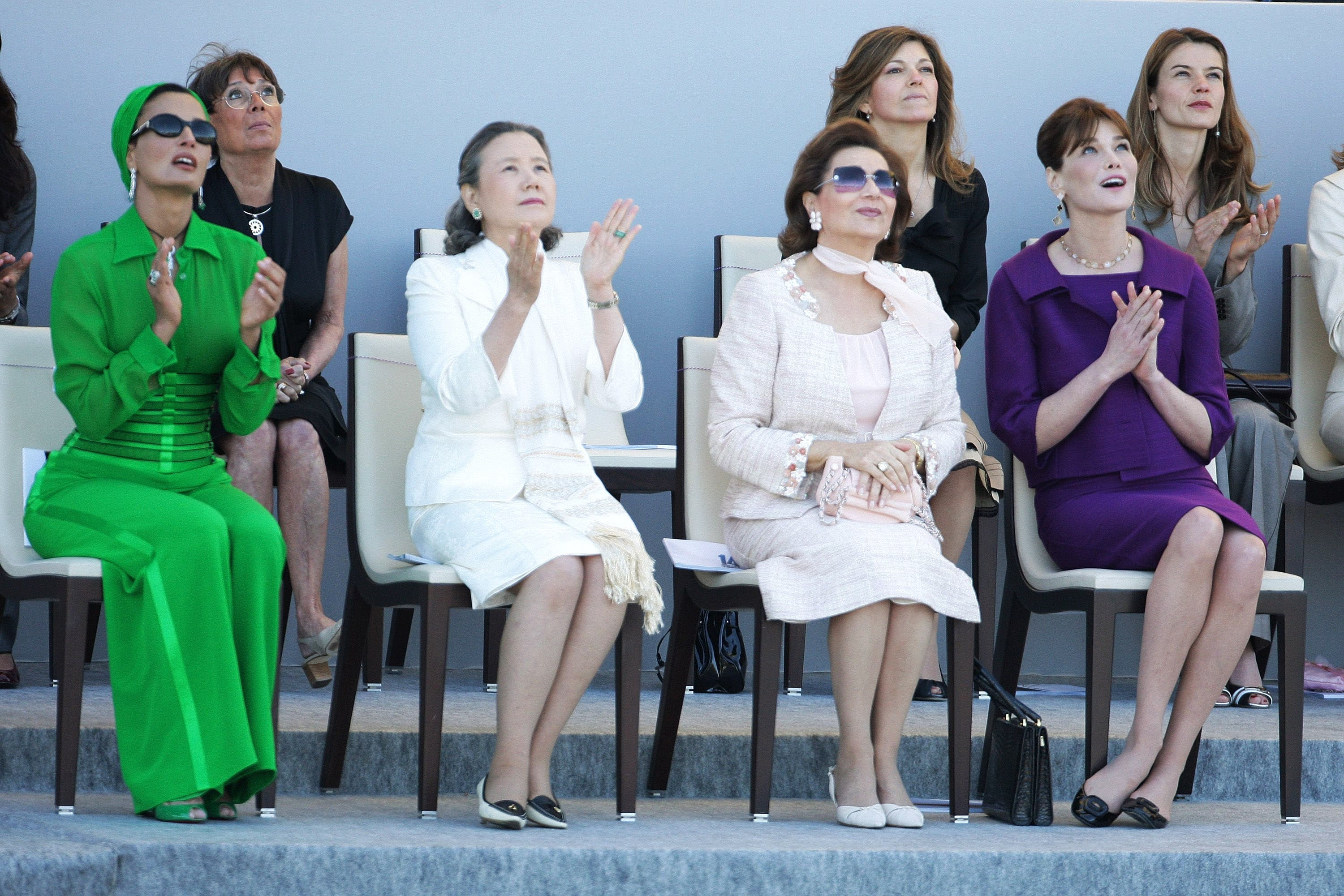 Middle East First Ladies- a force to contend with