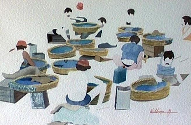 Artist Mohammad Kaddoura comes from Beiruti roots