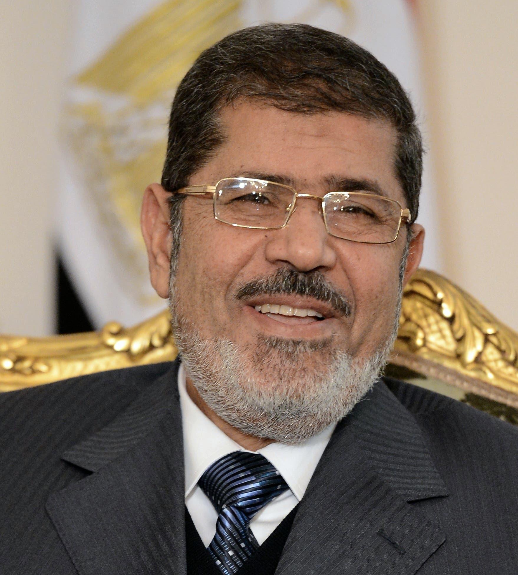 President Mohamed Morsi (Photo courtesy of Khaled Desouki / AFP)