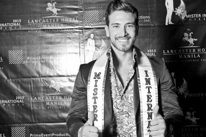 Handsome Mr. Lebanon takes offense to sexual prepositions. (Image: Facebook)