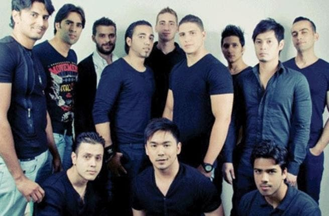 The competition is still on: The Mr. World hopefuls will have to wait until October 13 to impress the judges