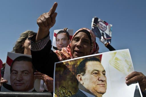 Egyptian toppled president Hosni Mubarak has charged Washington with sparking the uprising that removed him from power in 2011. (AFP)
