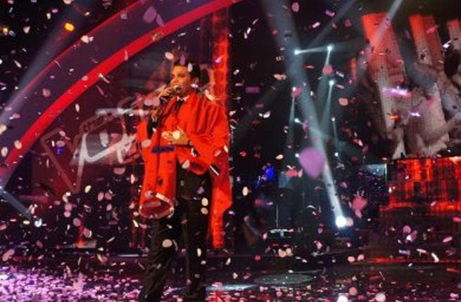 Murad Boureiky was crowned winner of The Voice 2012 (Photo: The Voice)