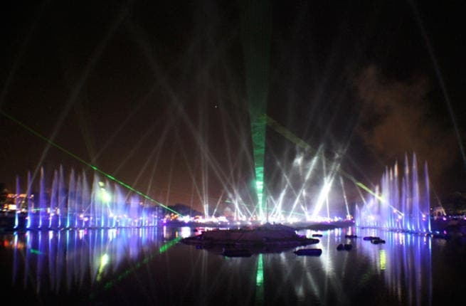 2011's Muscat Festival was unashamedly loud and proud (Photo: A & O Technology)