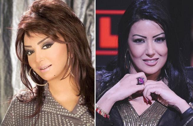 Nabila Obeid and Summaya Al Khashab