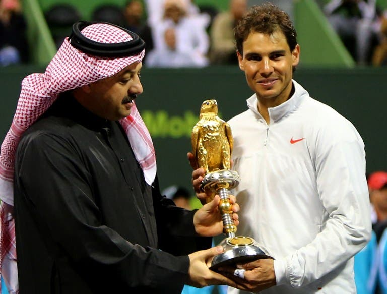 Nadal makes winning start to 2014 by clinching Qatar Open title
