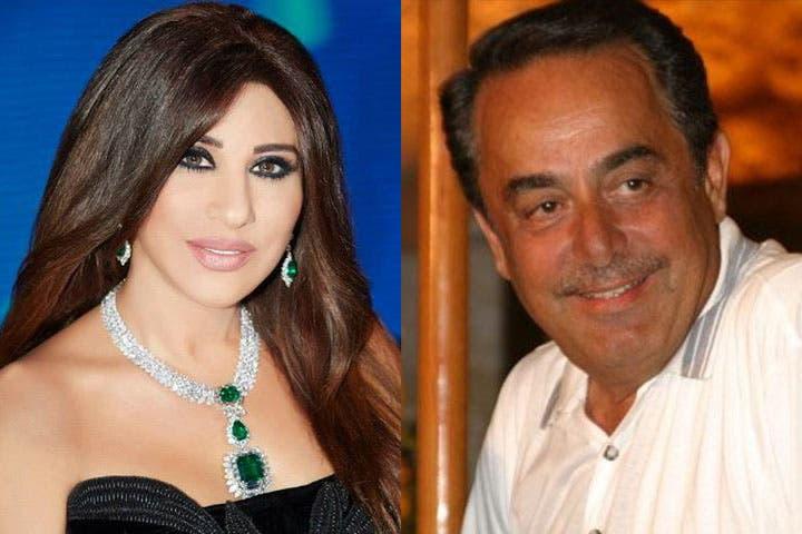 One generous lady! Melhem Barakat borrowed $400 thousand from fellow Lebanese superstar Najwa Karam. (Image: Albawaba edit)