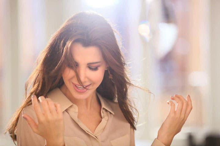 Nancy Ajram gets some healthy time in the sunshine! (Image: Facebook)